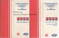 1994 Topkick, Kodiak, P6, B7 Truck Factory Service Manuals