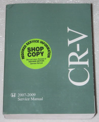 CR-V Honda 2007-2009 Service Manual