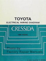 1989 Toyota Cressida Electrical Wiring Diagrams
