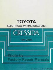 1989 Toyota Corolla Electrical Wiring Diagrams Manual Original Ewd Factory Repair Manuals