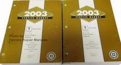 2003 Pontiac Grand Am & Oldsmobile Alero Factory Service Manuals