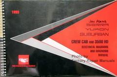 1993 Sierra Yukon Suburban Crew Cab and 3500 HD Electrical Diagrams & Diagnosis Manual