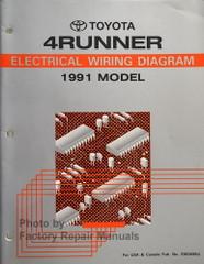Toyota 4Runner Electrical Wiring Diagrams 1991 Model