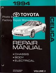 1994 Toyota Celica Repair Manuals Volume 2