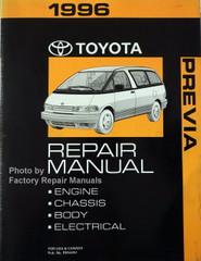 1996 Toyota Previa Repair Manual