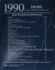 1990 Ford Probe Shop Manual