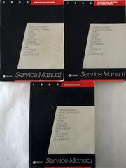1985 Omini/Charger Horizon/Turismo Aries Reliant Laser Daytona Lebaron New Yorker 600 Caravelle Lancer LeBaron GTS Service Manual