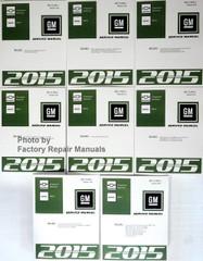 2015 Silverado, Sierra, Sierra Denali Service Manual Volume 1, 2, 3, 4, 5, 6, 7 & 8