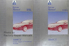 1997 Lincoln Mark VIII Factory Service Manual Set Original ...