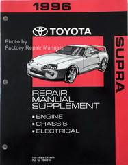 1996 Toyota T100 Truck Electrical Wiring Diagrams Original ...