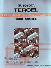 Toyota Tercel Electrical Wiring Diagram 1998 Model