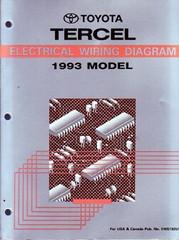 1993 Toyota Tercel Electrical Wiring Diagrams