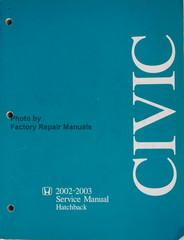 2002-2003 Honda Civic Hatchback Service Manual