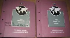 1997 Lincoln Mark VIII Service Manual Volume 1, 2