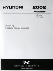 Hyundai 2002 Accent Service Manual