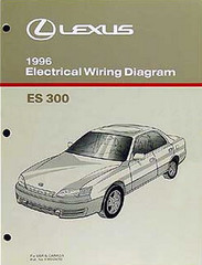 Lexus 1996 Electrical Wiring Diagram ES 300