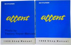 Hyundai Accent 1998 Shop Manual Volume 1 and 2