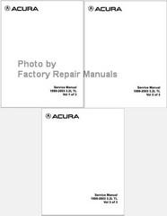 Acura Service Manual 1999-2003 3.2L TL Volume 1, 2, 3