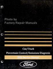 Car/Truck Powertrain Control/Emissions Diagnosis 2006 Service Manual Ford