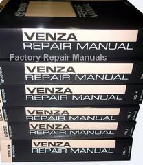 2009 Toyota Venza Repair Manual Volume 1, 2, 3, 4, 5, 6