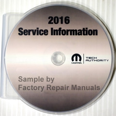2016 Dodge RAM 3500 4500 5500 Chassis Cab Service Information