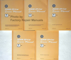 2008 Pontiac G6 Service Manual Volume 1, 2, 3, 4, 5
