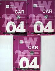 2004 GM W Car Chevrolet Impala Monte Carlo Service Manual Volume 1, 2, 3