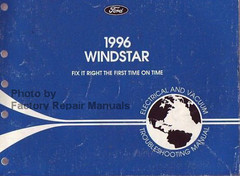 1996 Ford Windstar Electrical and Vacuum Troubleshooting Manual