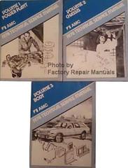 AMC 1978 Technical Service Manual Volume 1, 2, 3