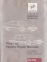 1989 Buick LeSabre Electra Park Avenue Service Manual