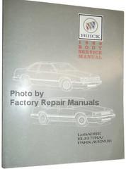 1989 Buick LeSabre Electra Park Avenue Body Service Manual