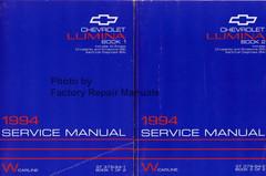 1994 Chevrolet Lumina Service Manual Volume 1 and 2