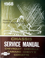 1968 Chevrolet Bel Air Camaro Corvette Chevelle El Camino Impala Chassis Service Manual