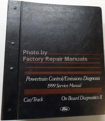 Ford Powertrain Control/Emissions Diagnosis 1999 Service Manual Car/Truck On Board Diagnostics II