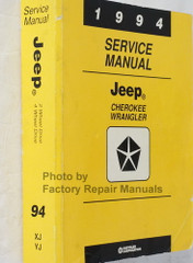 1994 Service Manual Jeep Cherokee / Wrangler