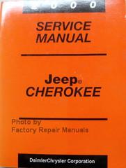 2000 Service Manual Jeep Cherokee