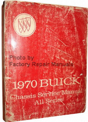 1970 Buick Chassis Service Manual All Series