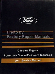 Ford Gasoline Engines Powertrain Control/Emissions Diagnosis 2011 Service Manual