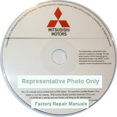 2017 Mitsubishi Mirage Service Manual CD-ROM