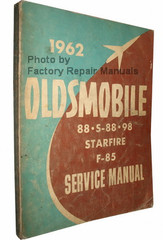 1962 Oldsmobile 88, S-88, 98, Starfire, F-85 Service Manual