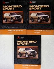 2000 Mitsubishi Montero Sport Service Manual Volume 1, 2, 3