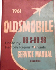 1961 Oldsmobile 88, S-88, 98 Service Manual