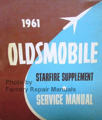 1961 Oldsmobile Starfire Supplement Service Manual