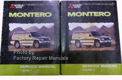 2000 Montero Service Manual Volume 1, 2, Mitsubishi Motors