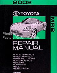 2002 Toyota MR2 Repair Manual