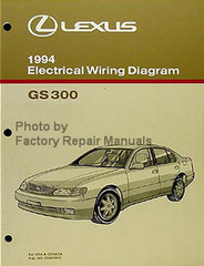 Lexus 1994 Electrical Wiring Diagrams GS 300