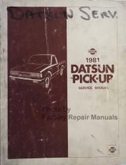 1981 Datsun Pick-up Service Manual
