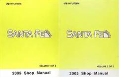 2005 Hyundai Santa Fe Shop Manual Volume 1, 2