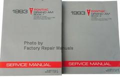1993 Pontiac Grand Am Service Manual Volume 1, 2