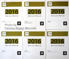 2016 Cadillac CT6 Service Manual Volume 1, 2, 3, 4, 5, 6